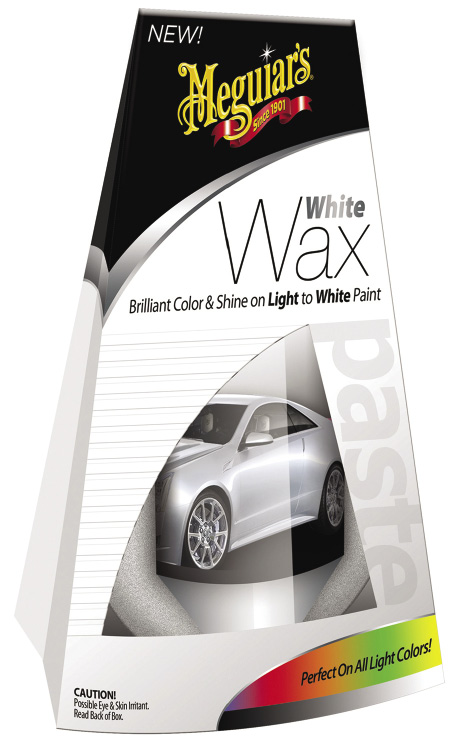 Meguiar's White Wax and Black Wax