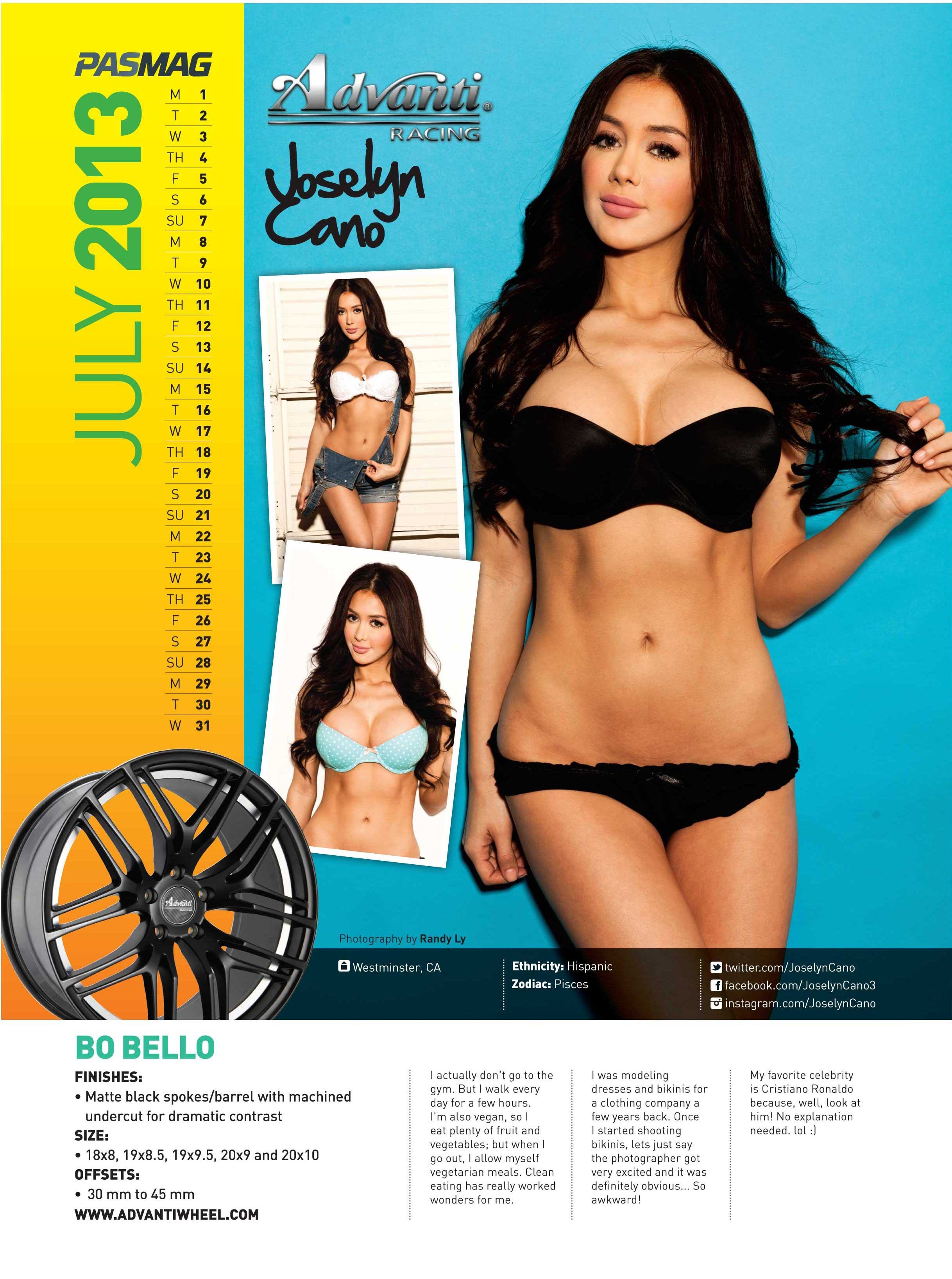 Joselyn Cano 2013