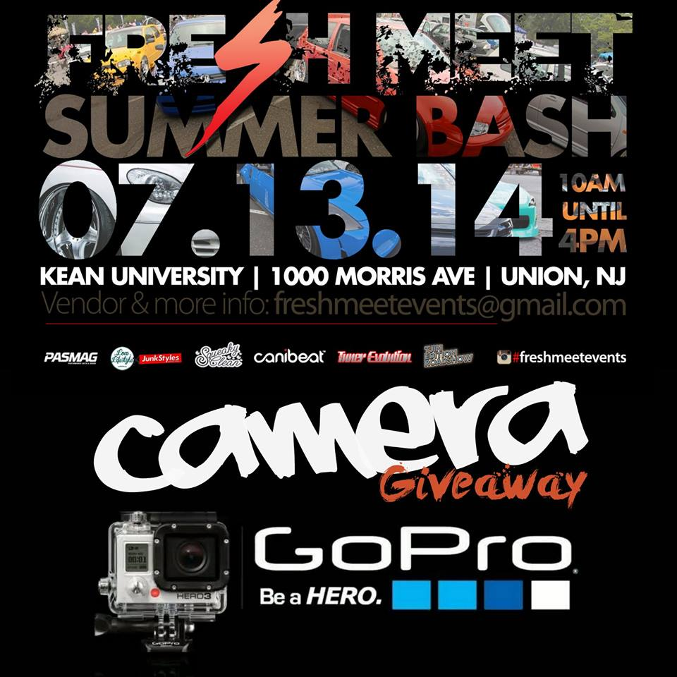 PASMAG Fresh Meet Summer Bash Union New Jersey July 13 2014 Event Photo Calendar Go Pro Giveaway