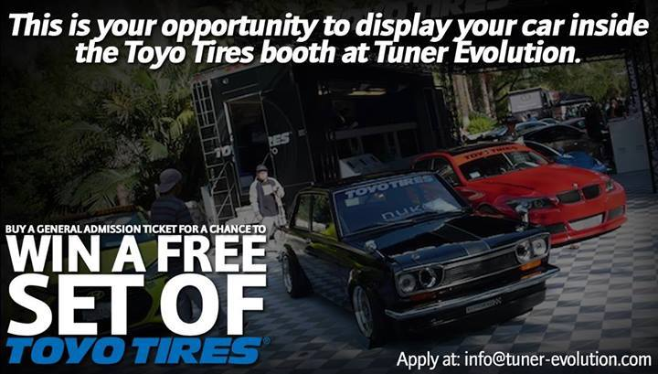 PASMAG Tuner Evolution 2014 Toyo Tires Contest Booth