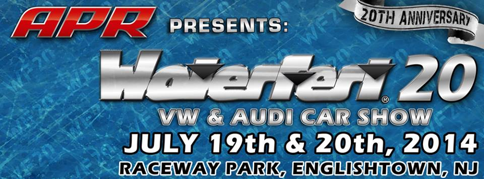 PASMAG Waterfest 20th Anniversary Raceway Park Englishtown New Jersey July 19 20 2014 Event Flyer