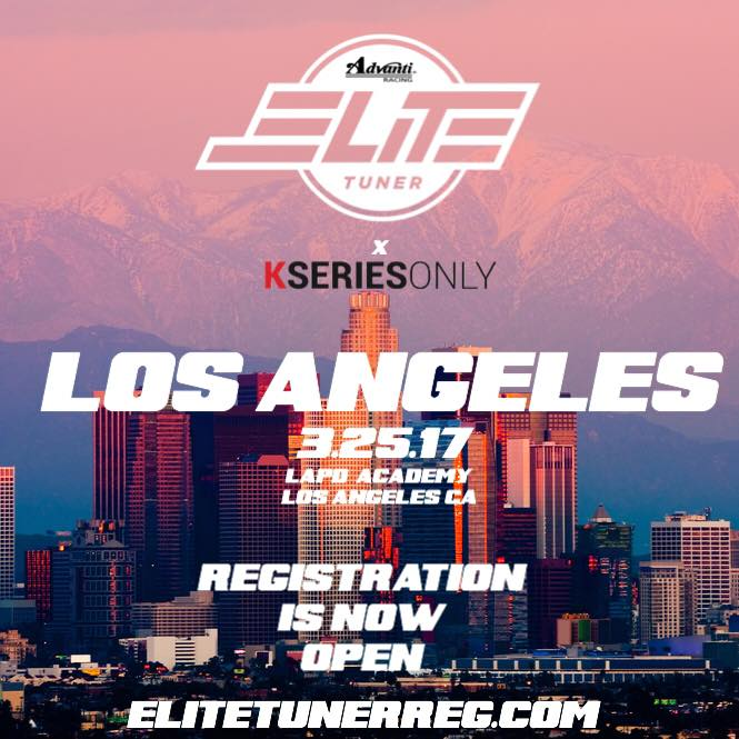 2017 PAS Elite Tuner KSERIESONLY Los Angeles Police Academy