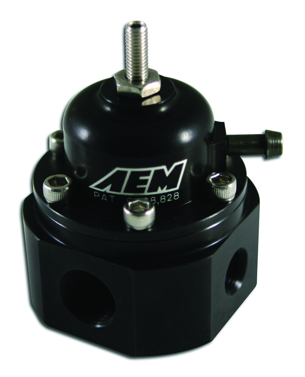 AEM Introduces the High Volume Adjustable Fuel Pressure Regulators