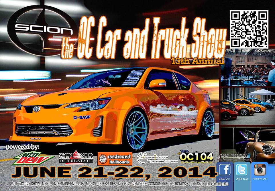 PASMAG OC Car and Truck Show 2014