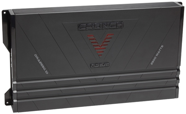 CRUNCH V-Drive Amplifiers are Now Shipping