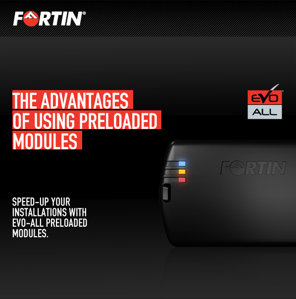 Speed-up your interface installations with Fortin EVO-ALL preloaded modules