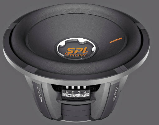 The Hertz SPL Show line of subwoofers is comprised of three models, the SX 250D, SX 300D, and SX 380D. These woofers are 10, 12, and 15 inches in size, and have continuous power handling specs of 600, 800, and 1000 watts respectively.
