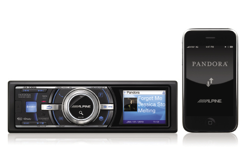Alpine has introduced a new source unit, that when connected to an Apple iPhone, can bring Pandora's amazing content selectivity to your ride. Enter the new $400.00 (USD) Alpine iDA-X305S Digital Media Reciever.