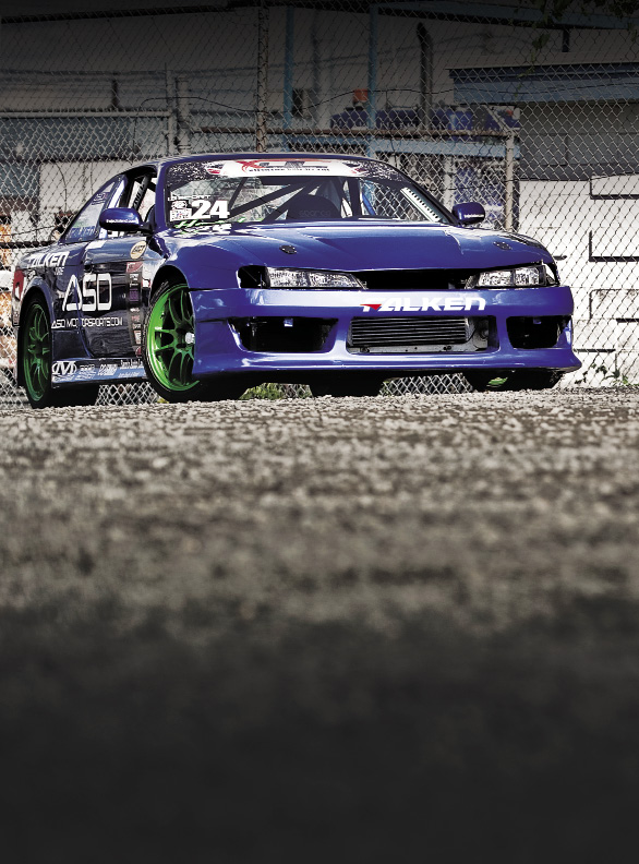 Born to Slide: DMCC 1997 Nissan 240SX