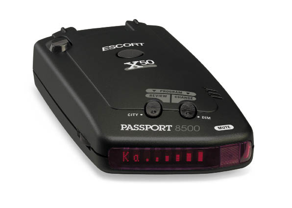 Connected: Escprt Passport 8500 X500 X50 Radar