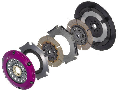 Exedy Twin-Plate Cerametallic Clutches