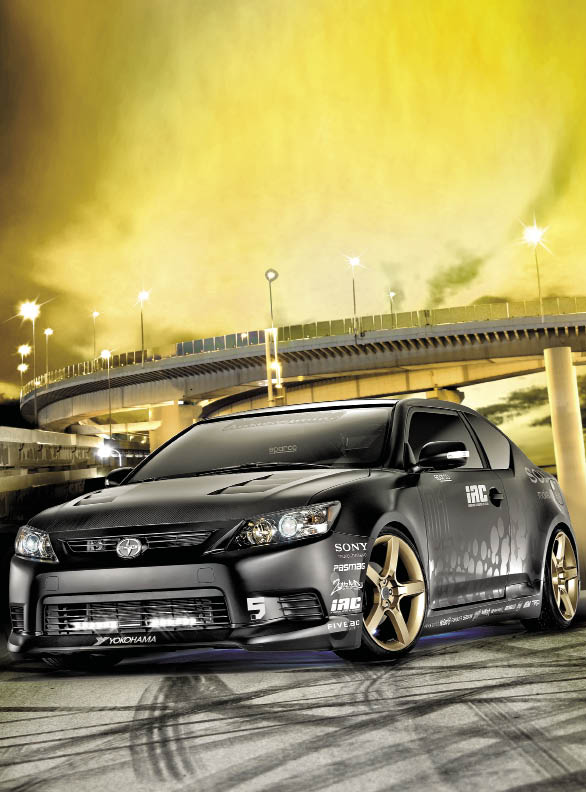The Adrenaline Project: Scion tC