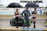 PASMAG Formula Drift 2014 Miami Florida Larry Chen Models Vaughn Gittin Jr Ford Mustang