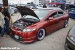 PASMAG - Import Face-Off In Baytown TX On Feb 9 2014 - Honda Civic With Purple Wheels