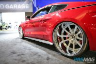 PASMAG SEMA CGS Performance Supercharger 2015 Ford Mustang GT Fastback Kompression rear side