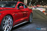 PASMAG SEMA CGS Performance Supercharger 2015 Ford Mustang GT Fastback Kompression side