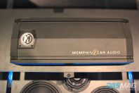 PASMAG CES 2015 Memphis Car Audio 50th Anniversary 1949 Crosley Business Coupe Restoration Limited Edition Amplifier top