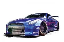 Liberty-Walk-Nissan-GT-R-Widebody-Kit