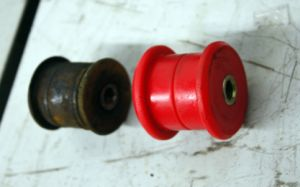 Short shift kit and energy suspension bushings