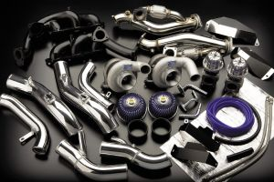 GReddy Twin TD06SH-20G Twin Turbo Upgrade Kit for the R35 GT-R