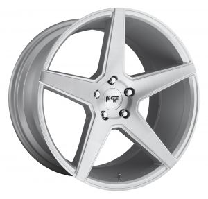 Niche Road Wheels CARINI 20x10.5 ET35 SILVER WITH BRUSH A1 pasmag
