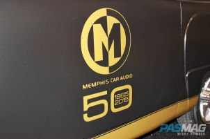 PASMAG CES 2015 Memphis Car Audio 50th Anniversary 1949 Crosley Business Coupe Restoration decal