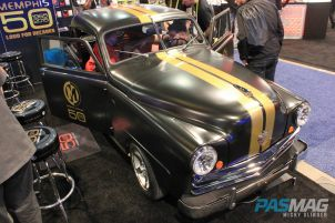 PASMAG CES 2015 Memphis Car Audio 50th Anniversary 1949 Crosley Business Coupe Restoration front