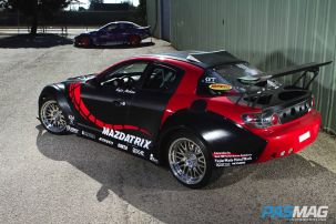 Global Challenger: Kyle Mohan's V8-Powered Mazda RX-8