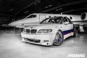 Carlos Molina's e46 Widebody