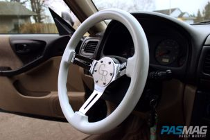 PASMAG Find Your Grip Royal Steering Wheel Casey Murphy 2001 Subaru Forester Halo side
