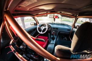 PASMAG Find Your Grip Royal Steering Wheel Jason Hellman 1991 Nissan 240sx Halo