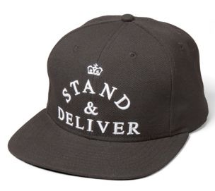 PASMAG Lifestyle King Apparel Stand Deliver 6 Panel Strapback Cap01