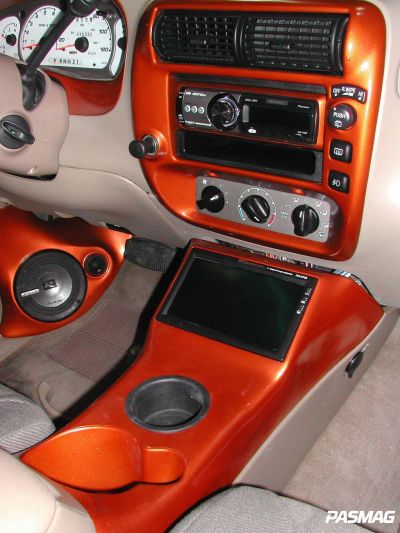 How to make your own center console