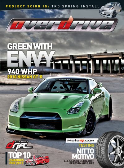 Green With Envy: 2010 Nissan Skyline GT-R