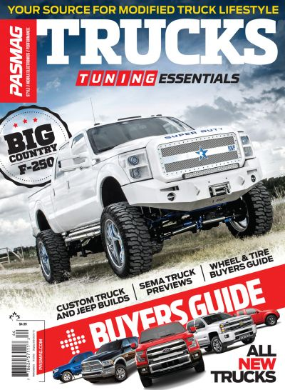 PASMAG Tuning Essentials Trucks 2014 SIP Cover