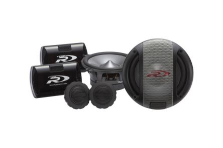 Alpine's 5.25-inch SPR-13S component speaker offers loud, high-performance Alpine sound with superior linearity, efficiency, clarity and bass response. Features include a reduced woofer magnet depth for easier installation, upgraded metal mesh grill design and swivel-mounted 25mm ring tweeter.