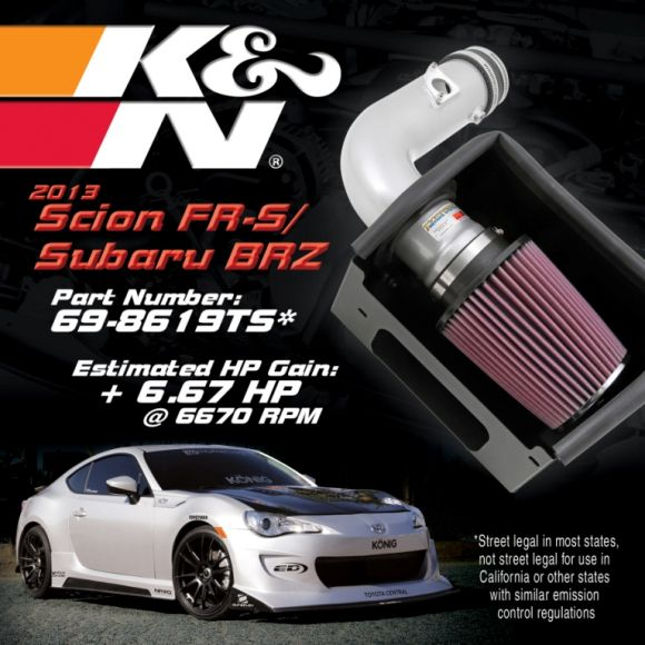 2013 FR-S-BRZ KN Intake - social media friendly