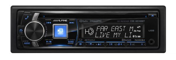 Alpine Electronics Completes its CD Receiver Lineup with the Arrival of Two New Units