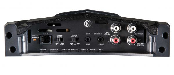 Memphis Car Audio MJ1.2200 Amplifier