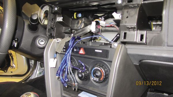 Project Scion FR-S: Head Unit and Component Speakers Install
