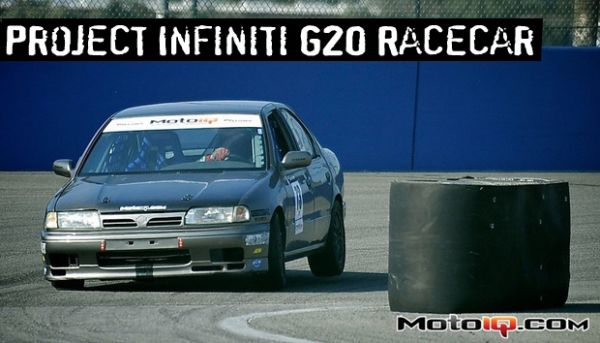 Project Infiniti G20 Racecar - Suspension & Handling Goodies
