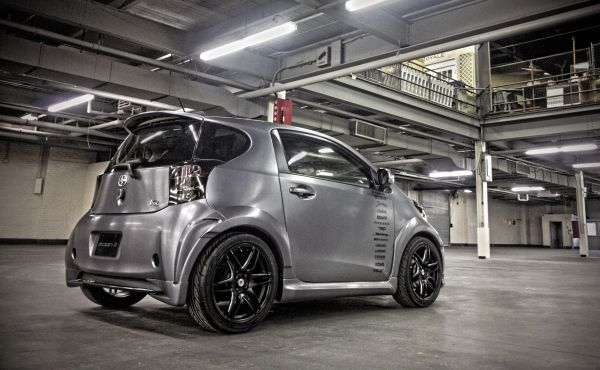 Project Scion iQ: Exterior Vinyl Wrap Install