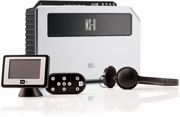 The new JBL MS-8 System Integration Digital Processor provides not only integration and system expansion capability, as well as advanced automatic tuning and correcting of the cars frequency response, but also provides significant improvements to your cars stereo imaging and staging capabilities.