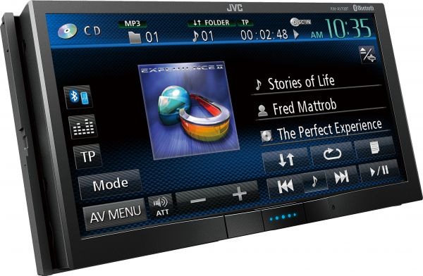 JVC KW-AV70BT Multimedia Player
