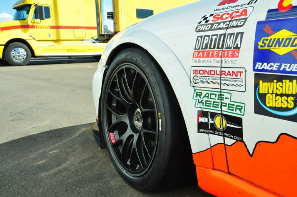 Pirelli P Zero tires are now on all World Challenge machines.