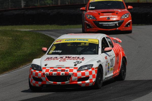 Ryan Eversley, of Atlanta, Ga., stayed perfect, scoring his second-straight World Challenge Touring Car win at the Optima Batteries Mid-Ohio Grand Prix Presented by GameStreamer Sunday.