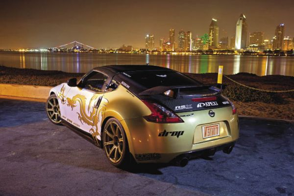 Cool as Gold: 2010 Nissan 370Z