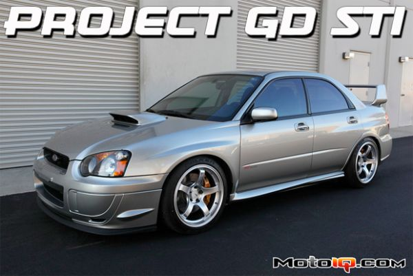 Project GD Subaru STI Part Two- Performance Suspension, Wheels and Tires