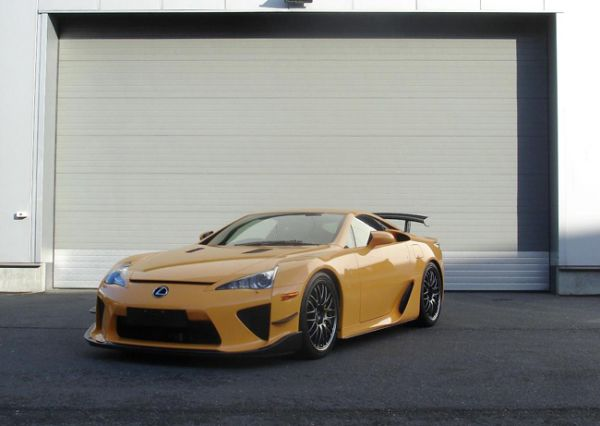 Europe's First Lexus LF-A Nürburgring Package Destined for UK