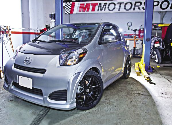 Project Scion iQ: TRD Lowering Springs Install
